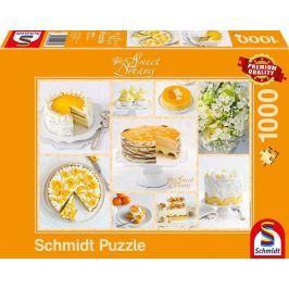 SCHMIDT Puzzle Sweet Dreams: Oranžové pokušení 1000 dílků