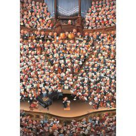 HEYE Puzzle  2000 dílků - Loup, Orchestr , Triangular
