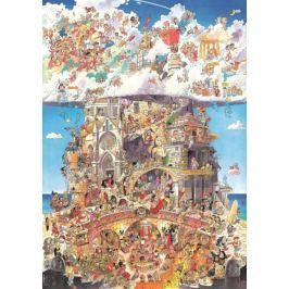 HEYE Puzzle  1500 dílků - Prades, Nebe a peklo , Triangular