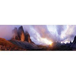 HEYE Panoramatické puzzle Tři vrcholy, Itálie 1000 dílků
