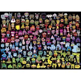 HEYE Puzzle Doodle Rainbow 1000 dílků