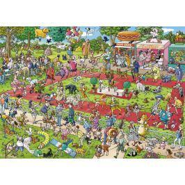 HEYE Puzzle Výstava psů 1000 dílků