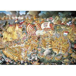 HEYE Puzzle Bitva u Trafalgaru 2000 dílků