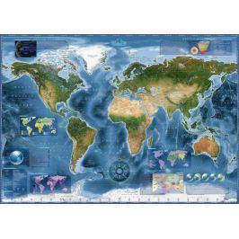 HEYE Puzzle Satelitní mapa světa 2000 dílků