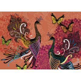 HEYE Puzzle Pávi a motýli 1000 dílků