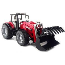 Bruder - Traktor MAS. FERGUSON s čelním nakladačem