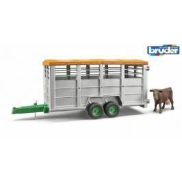 Bruder - Přepravník na zvířata s figurkou krávy
