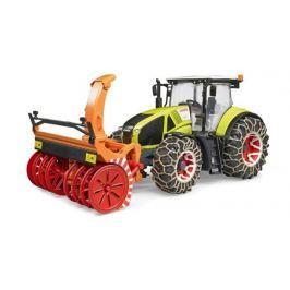 Bruder - Traktor Class Axion 950 se sněhovou frézou