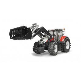 Bruder - Traktor Steyr 6300 Terrus CVT + čelní nakladač