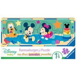 RAVENSBURGER Vkládačka Disney miminka
