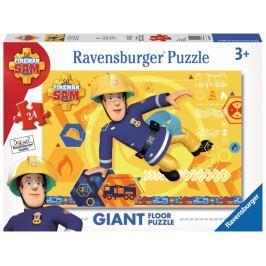 RAVENSBURGER Podlahové puzzle  24 dílků - Požárník Sam