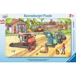 RAVENSBURGER Puzzle Práce na poli 15 dílků