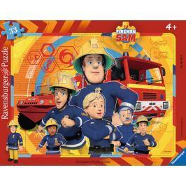 RAVENSBURGER Puzzle 33 dílků - Požárník Sam
