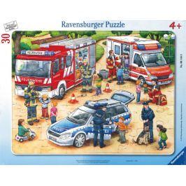 RAVENSBURGER Puzzle Zajímavá zaměstnání 30 dílků