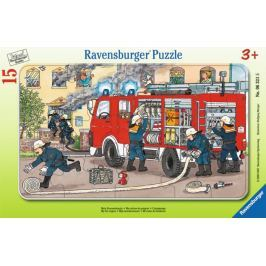 RAVENSBURGER Puzzle Hasiči v akci 15 dílků