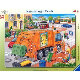 RAVENSBURGER Deskové puzzle  - Popeláři, 35 dílků