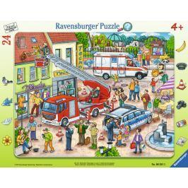 RAVENSBURGER Puzzle Zvířecí záchranáři 24 dílků