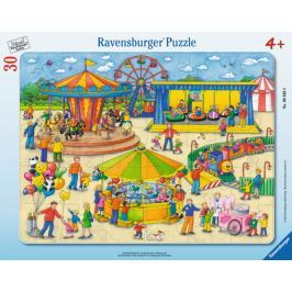 RAVENSBURGER Puzzle Na pouti 30 dílků