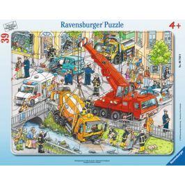 RAVENSBURGER Puzzle Záchranná akce 39 dílků