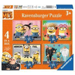 RAVENSBURGER Puzzle Já, padouch 3, 4v1 (12,16,20,24 dílků)