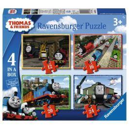 RAVENSBURGER Puzzle Mašinka Tomáš 4v1 (12,16,20,24 dílků)