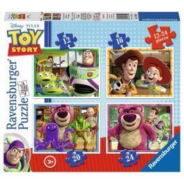 RAVENSBURGER Puzzle Toy Story 3, 4v1 (12,16,20,24 dílků)