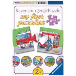 RAVENSBURGER Puzzle pro nejmenší  - Vozidla a stroje
