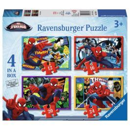 RAVENSBURGER Puzzle 4v1  - Spiderman 12,16,20,24 dílků