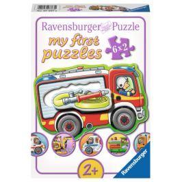 RAVENSBURGER Moje první puzzle Doprava 6x2 dílky