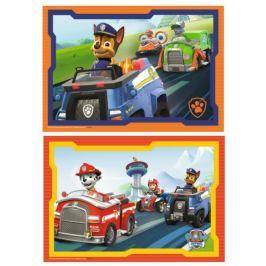 RAVENSBURGER Dětské puzzle  2x12 dílků - Tlapková patrola v akci