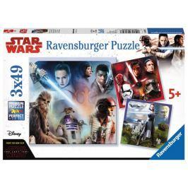 RAVENSBURGER Puzzle Star Wars: Ovládnout galaxii 3x49 dílků
