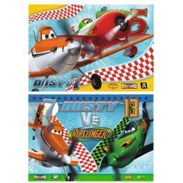RAVENSBURGER Dětské puzzle  2x24 dílků - Letadla: Odvážný Prášek