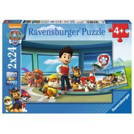 RAVENSBURGER Puzzle Tlapková patrola: Čmuchalové 2x24 dílků