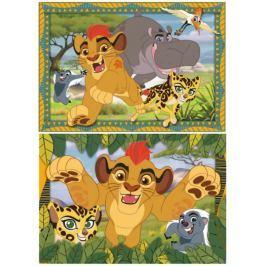 RAVENSBURGER Dětské puzzle  2x24 dílků - Lví Hlídka: Dobrodružství
