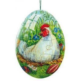 RAVENSBURGER Puzzleball Velikonoční vejce: Slepice