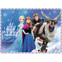 RAVENSBURGER Dětské puzzle  150 dílků - Ledové království: Přátelé u paláce XXL
