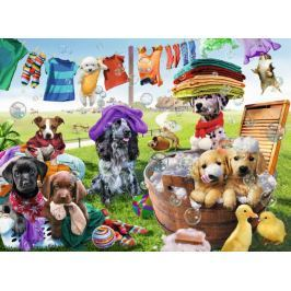 RAVENSBURGER Puzzle Velké prádlo XXL 100 dílků