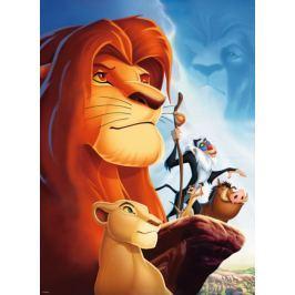 RAVENSBURGER Dětské puzzle  100 dílků - Lví král XXL