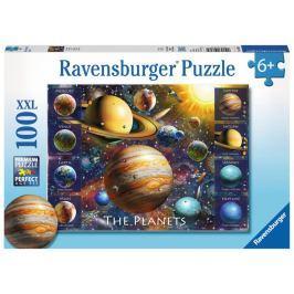 RAVENSBURGER Puzzle Planety XXL 100 dílků