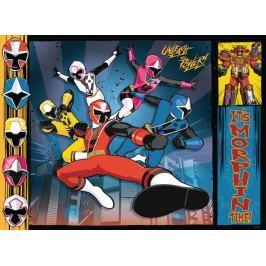 RAVENSBURGER Puzzle Power Rangers: Strážci vesmínu XXL 100 dílků