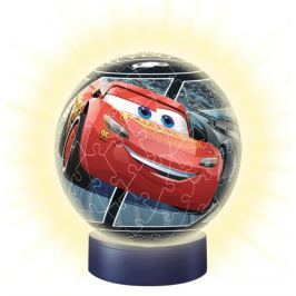 RAVENSBURGER Svítící puzzleball Auta 72 dílků