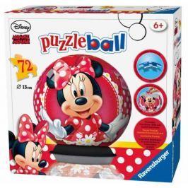 RAVENSBURGER Puzzleball Junior  72 dílků - Minnie