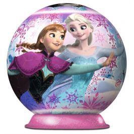 RAVENSBURGER 3D Puzzleball  72 dílků - Ledové království: Anna a Elsa