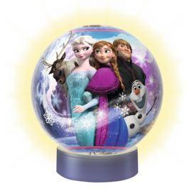 RAVENSBURGER Svítící puzzleball  Ledové království 72 dílků