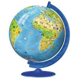 RAVENSBURGER Puzzleball Dětský globus se zvířátky (anglický)