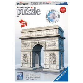 RAVENSBURGER 3D puzzle Vítězný oblouk, Francie 216 dílků
