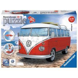 RAVENSBURGER 3D puzzle  162 dílků - VW Autobus T1