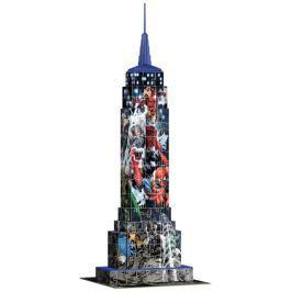 RAVENSBURGER 3D puzzle  216 dílků - Empire State Building 3D (Marvel Avengers)