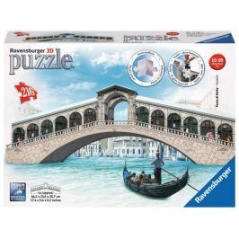 RAVENSBURGER 3D puzzle Most Ponte di Rialto 216 dílků