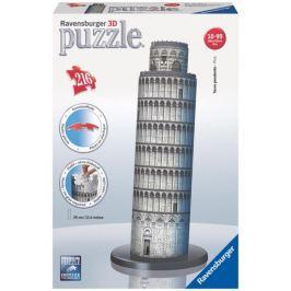 RAVENSBURGER 3D puzzle  216 dílků - Šikmá věž v Pise 3D, Itálie